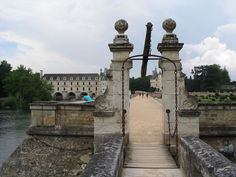 Château de Chenonceau - drawbridge