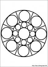 easy simple mandala 77 coloring pages printable and coloring book to print for free. Find more coloring pages online for kids and adults of easy simple mandala 77 coloring pages to print.