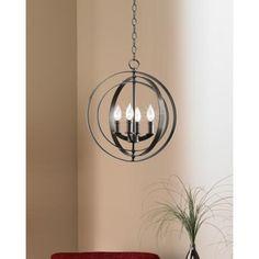 "Equinox Collection Bronze 16"" Wide Pendant Light - #R7952 | LampsPlus.com"