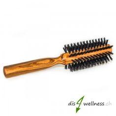 Redecker Rundbürste aus Olivenholz mit Wildscheinborsten Garden Tools, Hair Roots, Pigs, Timber Wood, Nice Asses, Outdoor Power Equipment