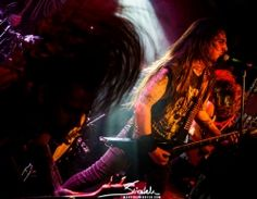 Nick Melissourgos of Grek thrash metal band Suicidal Angels ☆ 27.10.2016 @ Zaścianek, Kraków