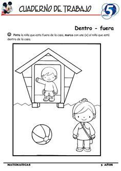 Cuaderno de Trabajo I - 5 Años Matematica Preschool Worksheets, Preschool Activities, Blue Cafe, English Activities, Filofax, Kindergarten, Homeschool, Classroom, Teaching