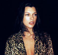 """Milla Jovovich : the actress who portrayed """"the perfect being called Leeloo"""" in the movie The Fifth Element."""