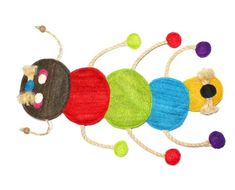 EcoLoofah Original Play and Scratch Station Pet Toy Caterpillar Design -- Details can be found by clicking on the image.(This is an Amazon affiliate link)