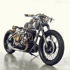 Triumph T120 Bonneville by Analog #motorcycle #motorbike