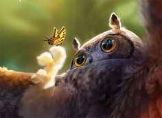 Some Animal Character Design And Realism To Amaze You by Ebrian Acebedo