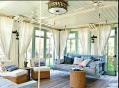 Convert your outdoor patio to a room great idea for small houses