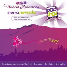 Acabamos de abrir Madrid y ya estamos trabajando para la próxima #apertura. Next Station: #SierraNevada. Feliz Juernes amig@s #HaveFun #LaIlusiónVencealMiedo