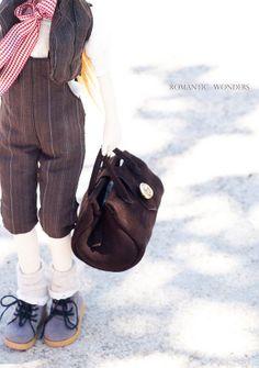 Handmade Ooak doll ''Mirto'' by Romantic Wonders Dolls Ooak Dolls, Longchamp, Romantic, Tote Bag, Handmade, Bags, Fashion, Handbags, Moda