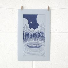 Browse all products from Laurie Hastings. £30  #screenprint #print #art #illustration #drawing #gift #lauriehastings
