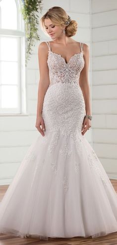 Captivating And Y This Mermaid Wedding Dress By Essense Of Australia Is A Beaded Blissful