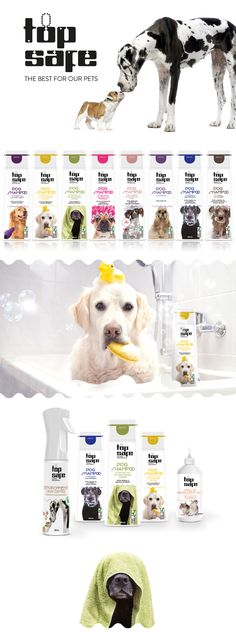 TOP SAFE  The best for our pets Dog Shampoo