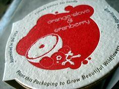 plantable product labels by porridge papers, via Flickr