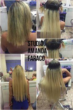 Mega hair colado