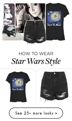 """{May the Fourth be with you}"" by bxttlescxrs on Polyvore featuring Converse and Topshop"