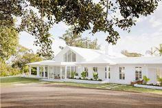 Three Birds Renovation Builds my Dream Home ~ Stace King Hamptons House, The Hamptons, Future House, My House, Awning Shade, Three Birds Renovations, Recycled Brick, Hip Roof, Villa