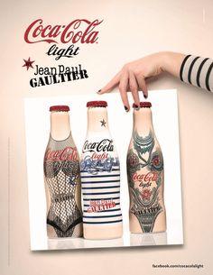 Jean Paul Gaultiers Tattoo Bottle for Diet Coke Debuts in New Campaign