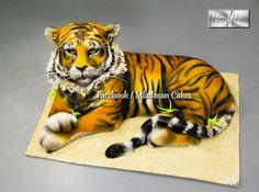 Tiger 3D Cake by MLADMAN