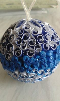 Blue by quilling catalina
