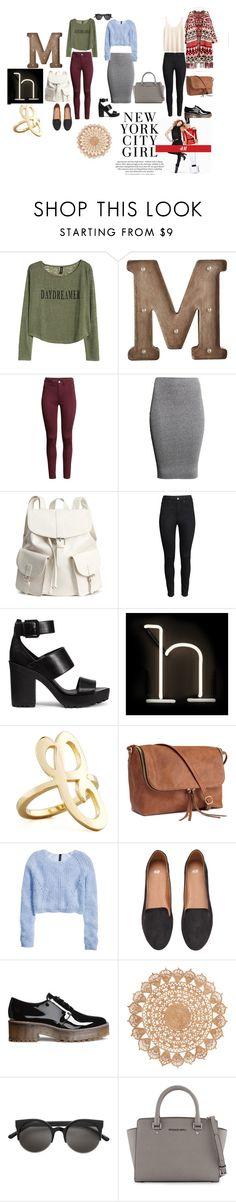 """H & M"" by rav-love on Polyvore featuring мода, H&M, Pier 1 Imports, Seletti, Jennifer Zeuner и MICHAEL Michael Kors"