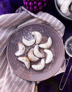 Chocolate Lavender Crescents|Havocinthekitchen.com