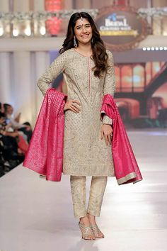 #Pakistan's Sana Abbas Couture https://www.facebook.com/sana.abbas.couture at Telenor Bridal Couture Week 2015