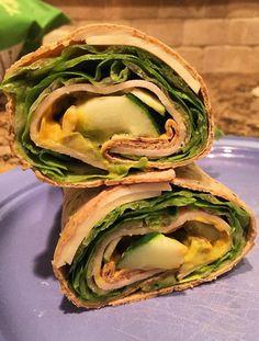 TUrkey veggie wrap