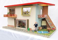 Communist era dollhouses! Would it be unfair to not let my daughter play with one of I found one to buy?