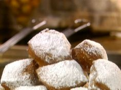 French Quarter Beignets : Food Network