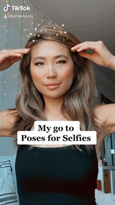 Selfie Tips, Cute Selfie Ideas, Poses For Selfies, Best Photo Poses, Good Poses, Picture Poses, Fashion Photography Poses, Selfie Photography Ideas, Cute Poses For Pictures