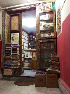 Hidden antiquarian in Beyoglu, Istanbul.