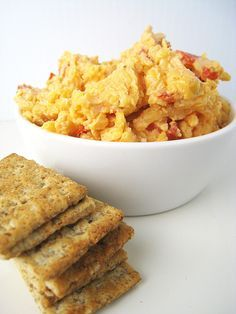 This southern classic is great on crackers or rye bread. You can put this recipe together in less than 15 minutes. It is great in sandwiches or as an appetizer.  Combine all ingredients and mix well. Spread mixture of crackers or rye bread. You can also make a bacon, cheese, onion and tomato sandwich […]