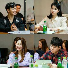 tvN Releases Script Reading Stills for Hotel Del Luna with IU and Yeo Jin Gu Best Kdrama, Jin Goo, Handsome Korean Actors, Opposites Attract, Moon Lovers, Drama Korea, She Song, Korean Celebrities, Drama Series