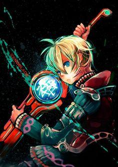 Schulk fan art - Xenoblade Chronicles
