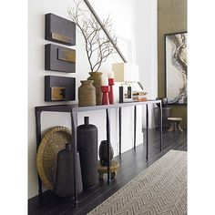 Silviano Console Table in Tables | Crate and Barrel