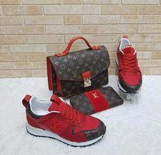 Shoes and purses Louis Vuitton Shoes, Vuitton Bag, Louis Vuitton Handbags, Cute Sneakers, Cute Shoes, Me Too Shoes, Shoes Sneakers, Look Fashion, Fashion Bags