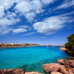 Ibiza Port des Torrent near San Antonio beach  #photodune