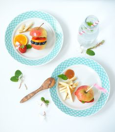 Le Burger Fruit | Recette | Florence Servan-Schreiber
