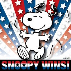 Snoopy wins! And you win!