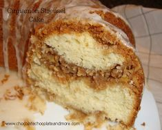 Cinnamon Streusel Cake - Chocolate Chocolate and More!