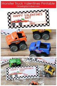 truck valentines day box