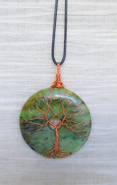 EARTH DAY RECYCLED Tree of Life wire by RecycledBeautifully, $40.00