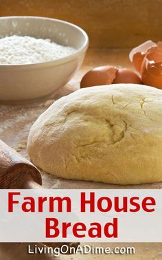 Farm House Bread Recipe - This is the BEST homemade bread! Your family will LOVE it especially toasted!
