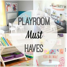 MWOA Favorites: Play Rooms - Moms Without Answers