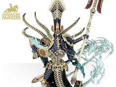 DEATHLORDS NAGASH, SUPREME LORD OF THE UNDEAD - MINIATURE PAINTERS
