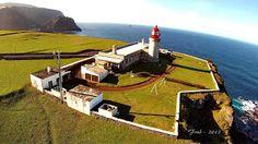 Farol do Albarnaz - ilha das Flores - Açores