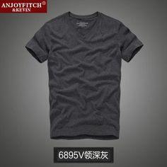 Men's short-sleeved 100% cotton T-shirt men bottoming shirt solid color Casual O-Neck Male Tops & Tees