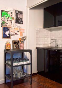 En París: Un apartamento de 30m2 decorado con piezas de mercadillo. | Etxekodeco