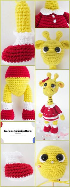 We share the amigurumi giraffe pattern for free. You can visit our website for new patterns. Crochet Giraffe Pattern, Crochet Patterns Amigurumi, Animal Knitting Patterns, Stuffed Animal Patterns, Half Double Crochet, Single Crochet, Free Crochet, Crochet Hats, Slip Stitch
