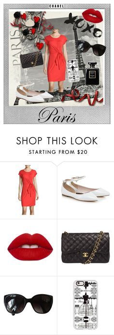 """paris, city of love"" by shopoholic0708 on Polyvore featuring Polaroid, Spense, Lime Crime, Chanel and Casetify"